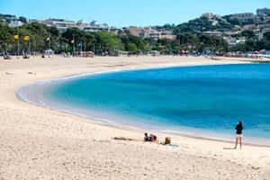 Coves and beaches of Sant Feliu de Guixols (Cala De Sant Feliu)