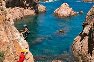 Coves and beaches of Sant Feliu de Guixols (Cala Del Moli)