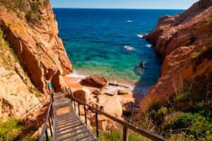 Coves and beaches of Sant Feliu de Guixols (Cala Jonca)