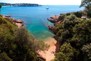 Coves and beaches of Sant Feliu de Guixols (Cala Maset)