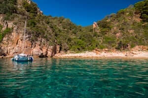 Coves and beaches of Sant Feliu de Guixols (Playa Can Dell)