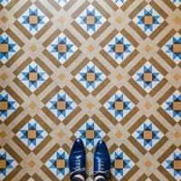 Barcelona, de mosaico en mosaico (Mosaicos Barcelona Alexandra Hotel)