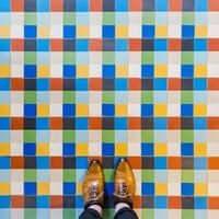 Barcelona, de mosaic en mosaic (Mosaics Barcelona Axel Hotel)