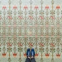 Barcelona, de mosaico en mosaico (Mosaicos Barcelona Casa Lleo Morera)