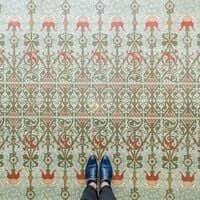 Barcelona, de mosaic en mosaic (Mosaics Barcelona Casa Lleo Morera)
