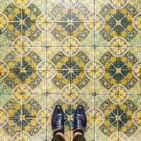 Barcelona, de mosaico en mosaico (Mosaicos Barcelona Granja M Viader)