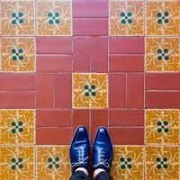 Barcelona, de mosaic en mosaic (Mosaics Barcelona Palacio De La Musica)