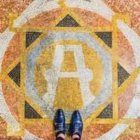 Barcelona, de mosaico en mosaico (Mosaicos Barcelona Parroquia De San paciente 2)