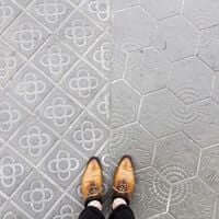 Barcelona, de mosaic en mosaic (Mosaics Barcelona Paseo De Gracia)