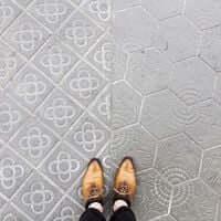 Barcelone,?? mosaïque de carrelage (Mosaïques Barcelone Paseo De Gracia)