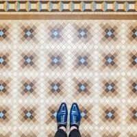 Barcelona, ?? mosaic tiling (Mosaics Barcelona Praktik Hotel)
