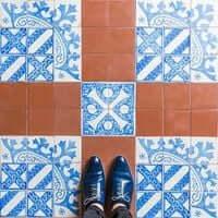 Barcelona, de mosaico en mosaico (Mosaicos Barcelona Recinto Modernista)