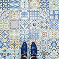 Barcelona, de mosaico en mosaico (Mosaicos Barcelona Restaurante Catedra)