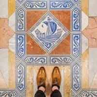 Barcelona, de mosaico en mosaico (Mosaicos Barcelona Salo De Cien Ayuntamiento de Barcelona)