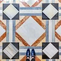 Barcelona, de mosaico en mosaico (Mosaicos Barcelona Salo De San Jorge Palacio De La Generalidad)