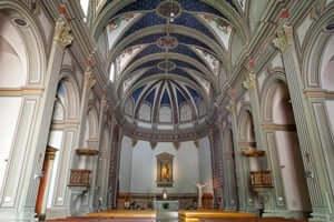 A walk through Tossa de Mar (Parish Church of Sant Vicenc)
