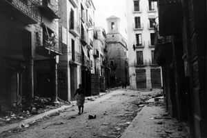 Hemingway in Tortosa (Tortosa After Franco arrival January 1939)
