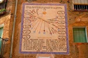 Rellotges soleil Porrera (Porrera Rellotge Sun El Portal)