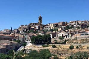 San Ramon Cervera, traversant le sud Segarra (Cervera)