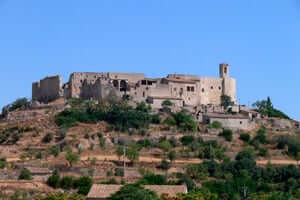 San Ramon Cervera, traversant le sud de Segarra (Montfalco Murallat)