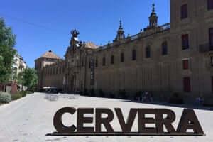 San Ramon Cervera, traversant le sud de Segarra (Université de Cervera)
