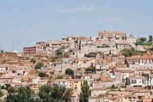 San Ramon Cervera, traversant le sud de Segarra (Las Olugues)