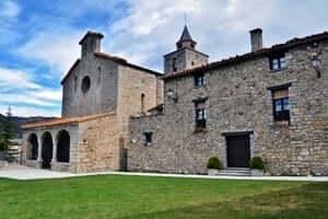 Caminos de la Cerdanya, de Talló los búnkeres de Martinet y Montellà (Iglesia De Santa María De Tallo Bellver De Cerdanya)