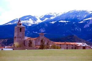 Caminos de la Cerdanya, de Talló los búnkeres de Martinet y Montellà (Santuario De Santa Maria De Tallo Bellver De Cerdanya)