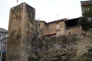 Cerdanya roads, bunkers Talló Martinet and Montellà (Torre De La Preso Bellver De Cerdanya)