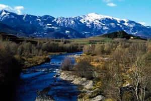 Camins de la Cerdanya, de Talló als búnquers de Martinet i Montellà (Riu Segre Prullans Ruta De La Lludriga)