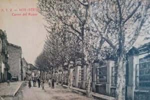 Berga durante la Guerra Civil (Barriada Calle Del Rosario Berga Guerra Civil)