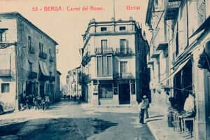 Berga during the Civil War (Calle Del Rosario Berga Civil War)