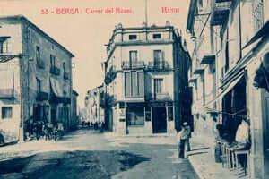 Berga durante la Guerra Civil (Calle Del Rosario Berga Guerra Civil)