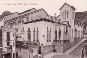 Berga during the Civil War (Civil War Casino Berga)