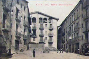 Berga during the Civil War (Plate Sallagossa Portal Sources Berga Civil War)