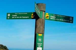 Guilla (route Guilla Calella Jaune)