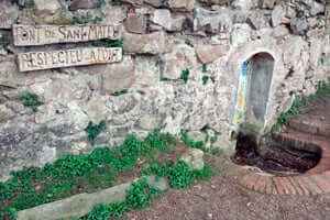 Ruta de l'esquirol a Premià de Dalt (Font De Sant Mateu)