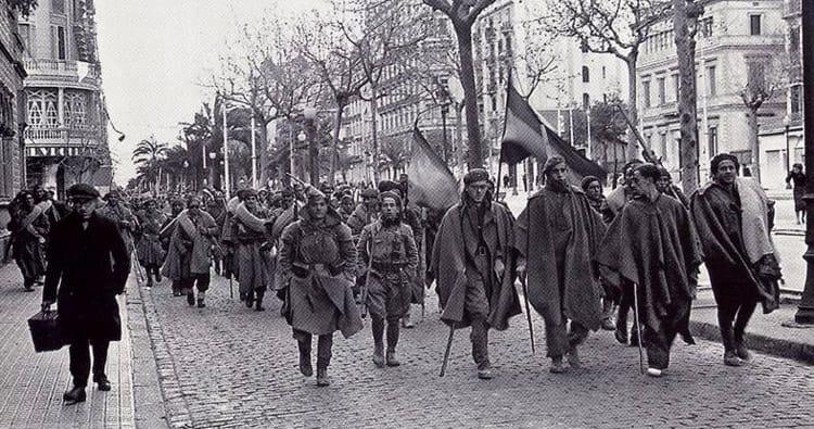 Barcelona 1939. La oscura noche del franquismo