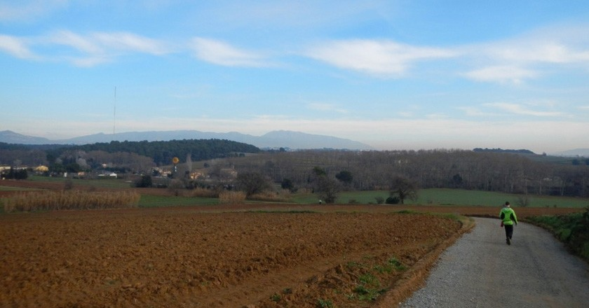 El camino de los Bandolers de Gallecs en Mollet del Vallés