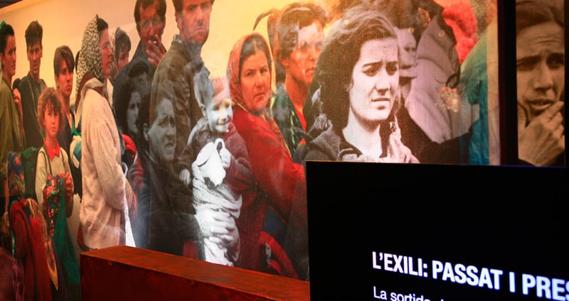 El exilio en la Jonquera, la ruta de los republicanos hacia Francia