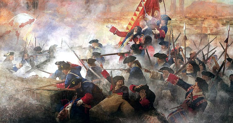 The battles of 1714