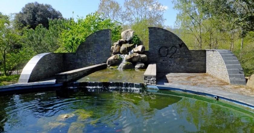 The fountains of Santa Maria de Palautordera