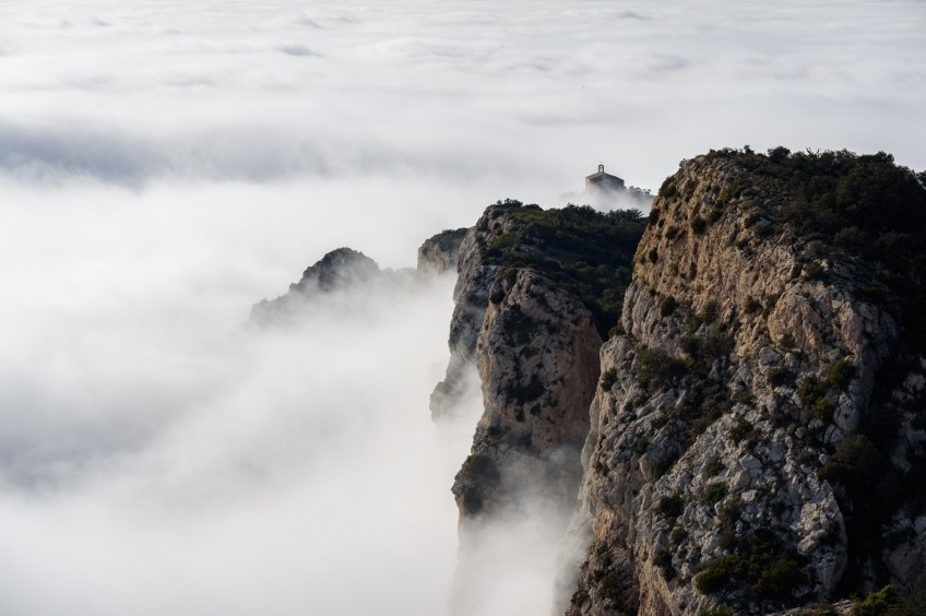 Pala Alta des de la Mare de Déu de Montalegre