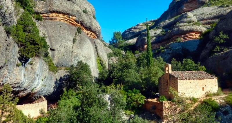 Route des ermitages de Ulldemolins