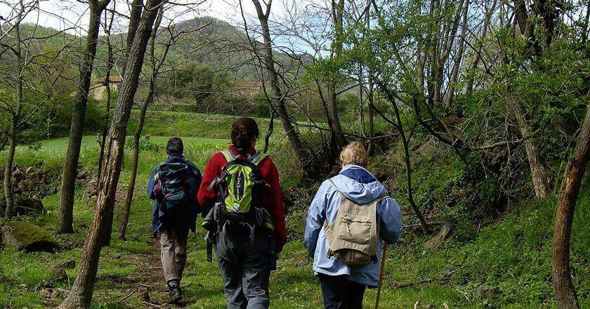 Ruta de les Fonts i Verlets pel volcà de la Canya