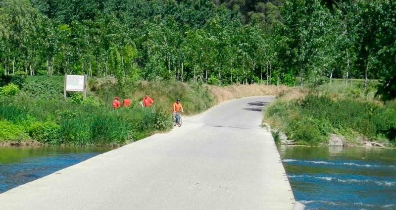 Ruta del Ter por Celrà, Bordils, Sant Joan de Mollet y Flaçà