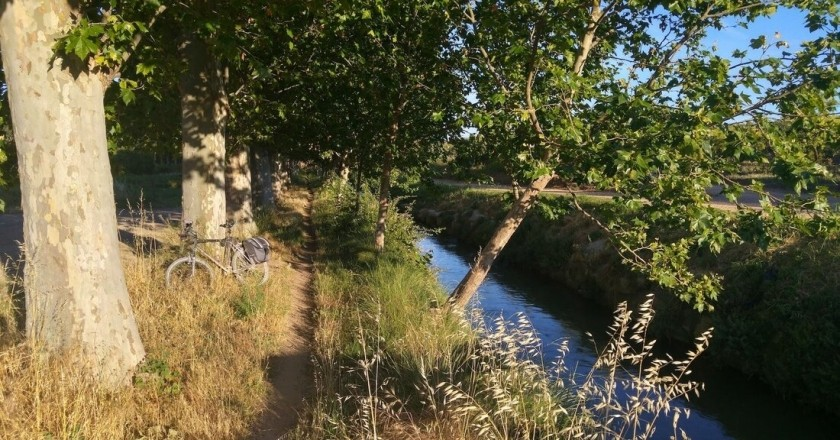 Urgell Canal pedal route