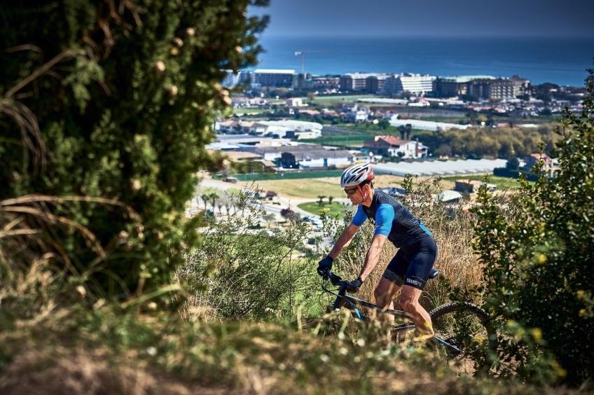 Ruta en bicicleta al Collado de Portell en Santa Susanna