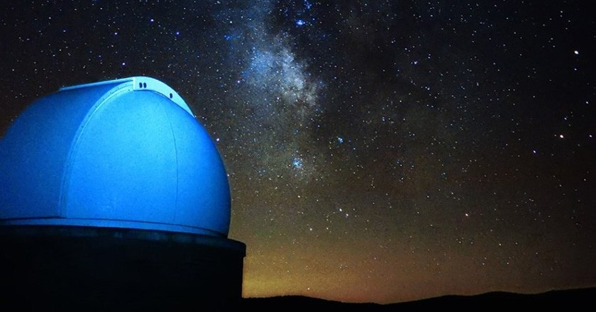 Route astronomical observatories of Catalonia