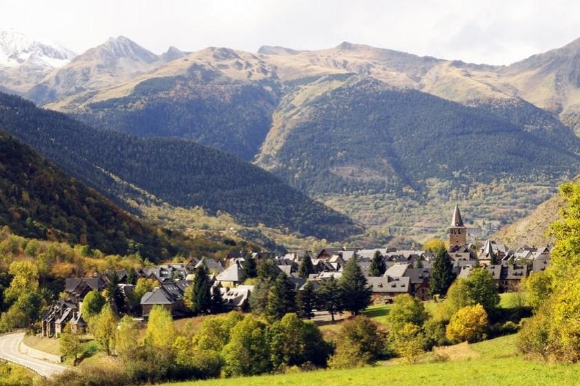 Ruta circular de Gessa a Arties vorejant el Garona